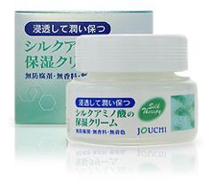 シルクアミノ酸の保湿クリーム 商品写真